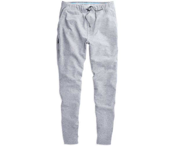 Grey Heather | Front view of Ace Sweatpant in Grey Heather