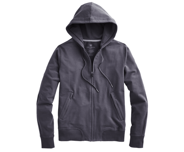 Nine Iron | Front view of Ace Hoodie in Nine Iron