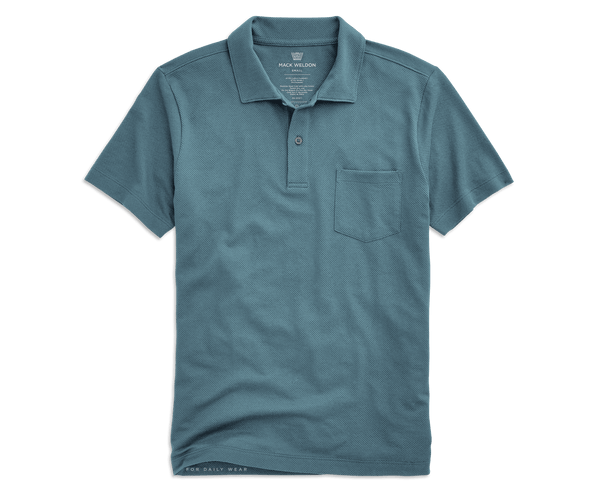 Mariner | Front view of Vesper Polo in Mariner