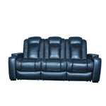 black sofa home theater power recliner sofa sets