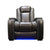 black armchair home theater sofa with led cup holder and storage handrest