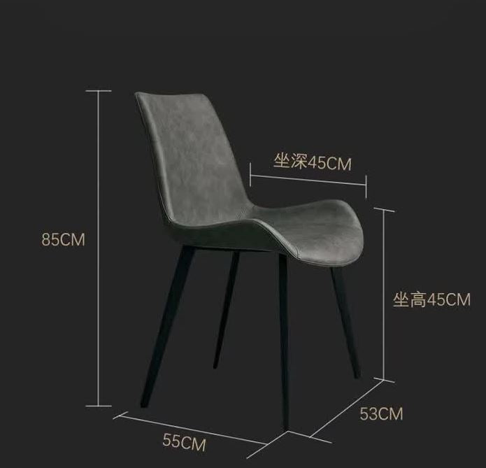 clara dining chair specification