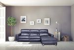 comfy singapore L shaped full aniline power recliner sofa with italian top grain leather