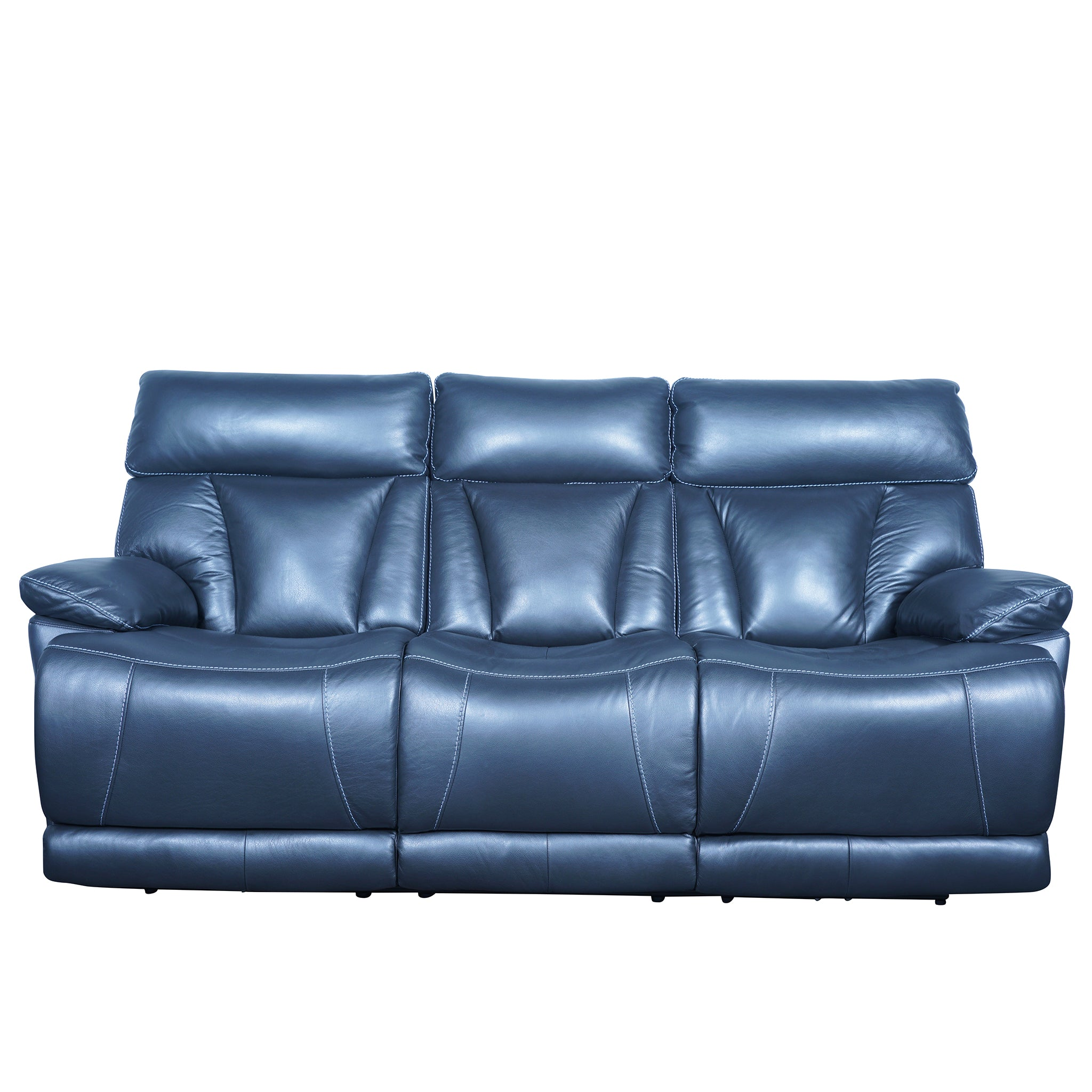 eastwood 3 seater leather sofa with usa sinomax foam