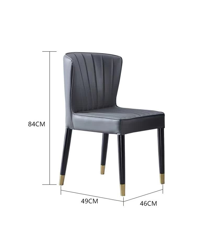 edwin dining chair dimension