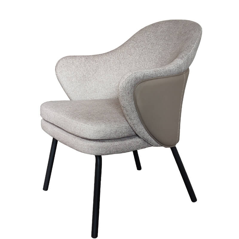 fabric dining chair stone gray