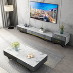 living room coffee table topview tv console