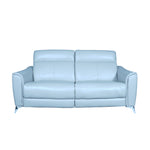 monty grey sofa with italian top grain leather