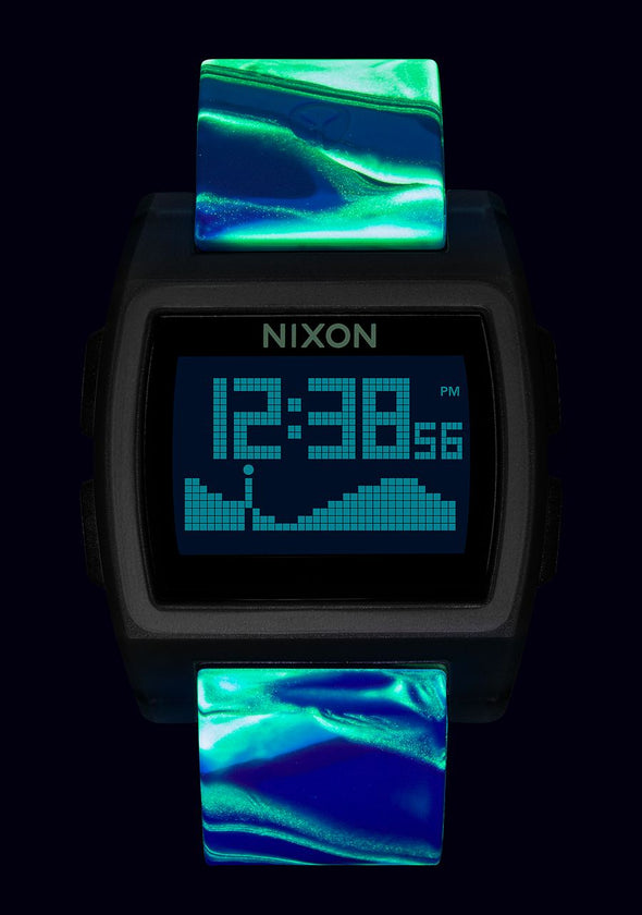 Nixon BASE TIDE - BLUE JELLYFISH