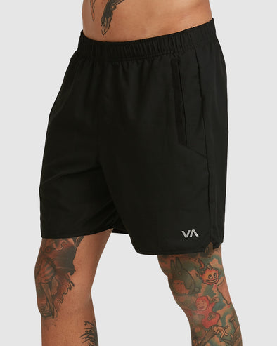 RVCA YOGGER |V SHORT - BLACK