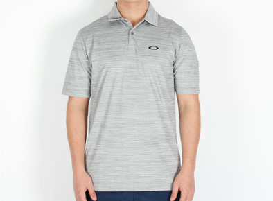 OAKLEY NEW GALAXY POLO - NEW GRANITE HEATHER