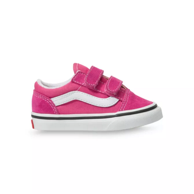 VANS OLD SKOOL V TODDLER - FUCHSIA PURPLE/TRUE WHITE