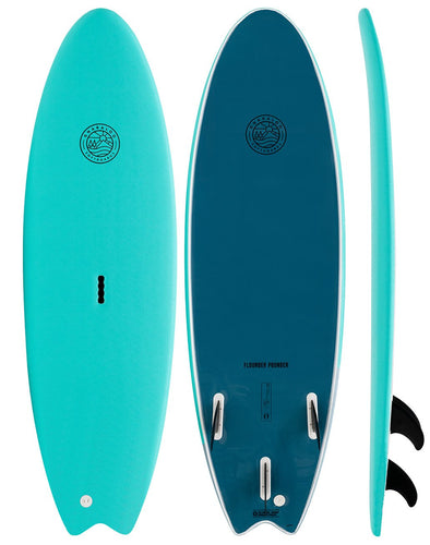 GNARLOO SOFTBOARDS 6'6 FLOUNDER POUNDER