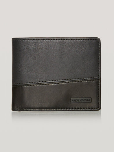 VOLCOM SHIFT STONE WALLET - BLC