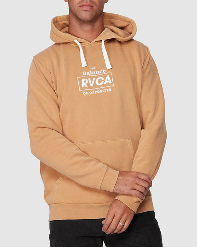RVCA BOXED IN PULLOVER - HONEY