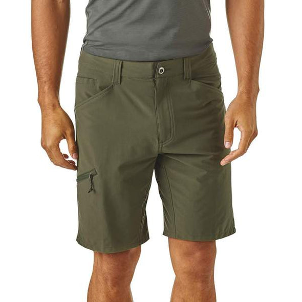 PATAGONIA M'S QUANDARY SHORTS - 10IN - INDUSTRIAL GREEN