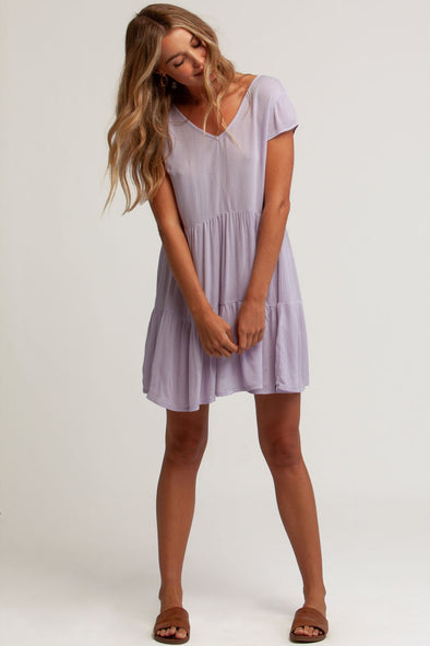 RHYTHM MORNING SUN DRESS - LILAC