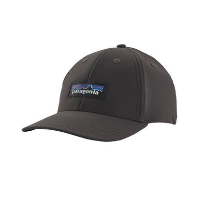 PATAGONIA P-6 LOGO CHANNEL WATCHER CAP-INK BLACK