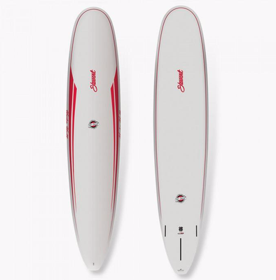 STEWART HYDRO HULL 9'0 - GREY/RED
