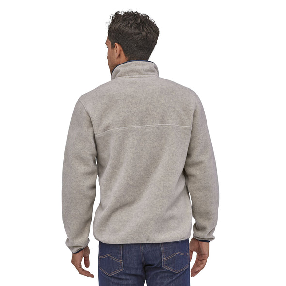 PATAGONIA M'S LW SYNCH SNAP-T P/O - OATMEAL HEATHER