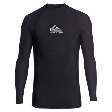 QUIKSILVER HEATER LONG SLEEVE - BLACK