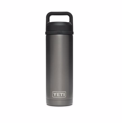 YETI RAMBLER 18OZ(532ML) BOTTLE - GRAPHITE