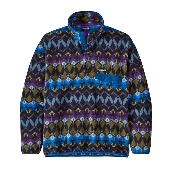 PATAGONIA M'S LW SYNCH SNAP-T P/O - COMPANIONS BIG: NEW NAVY