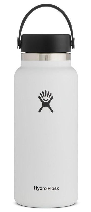 HYDROFLASK 32OZ (946ML) WIDE MOUTH - WHITE