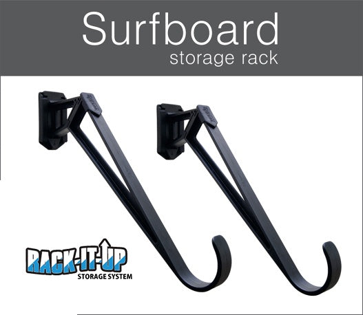 RACK IT UP SURFBOARD STORAGE 45 DEGREE ANGLE