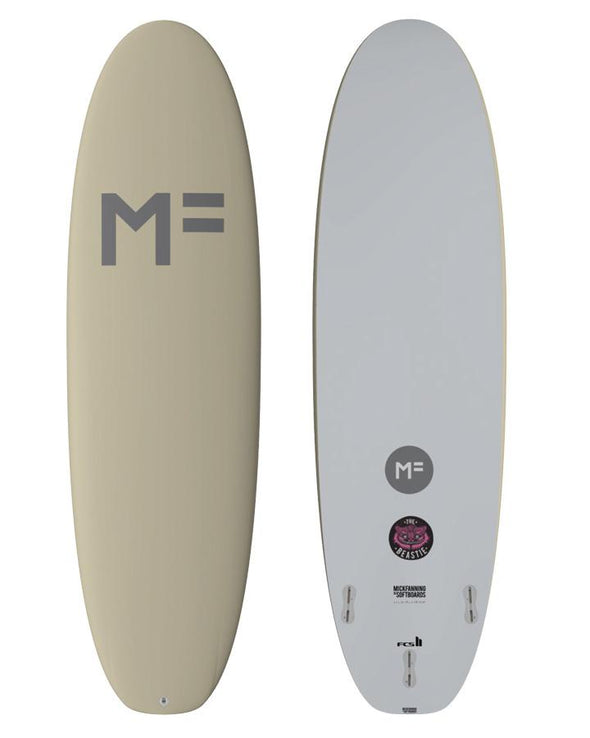 MICK FANNING SOFT BOARDS 8'0 BEASTIE - SOY