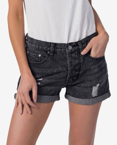 RIP CURL VIXEN || DENIM SHORT - BLACK