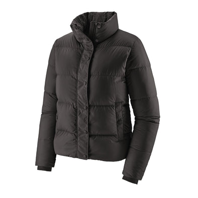 PATAGONIA W'S SILENT DOWN JACKET - BLACK