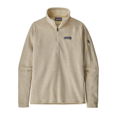 PATAGONIA W'S BETTER SWEATER 1/4 ZIP - OYSTER WHITE