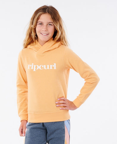 RIP CURL GOLDEN STATE HOODIE - GIRL - ORANGE