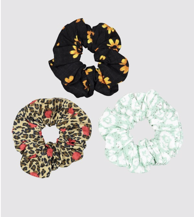 RVCA SCRUNCHIE 3PK MULTI