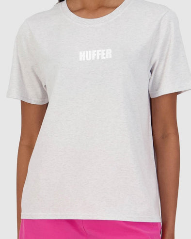 HUFFER STELLA TEE/CENTRIC - SILVERMARLE
