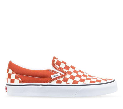 VANS CLASSIC SLIP ON CHECKERBOARD - PICANTE