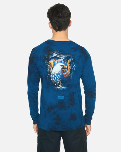 HURLEY ANDINO PRO SERIES BOYS L/S TEE - 480 GAME ROYAL
