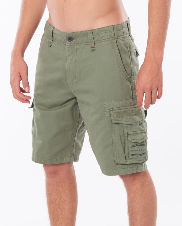 "Rip Curl TRAIL CARGO 21"" WALKSHORT - 9436 MID GREEN"