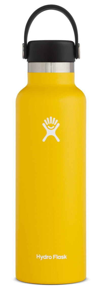 HYDRO FLASK 21 OZ STANDARD MOUTH SUNFLOWER