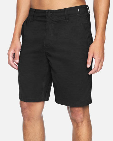 "HURLEY H20 DRI MARWICK 20"" WALKSHORT - 032 HEATHER BLACK"