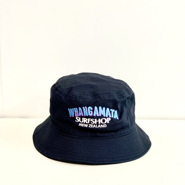 WHANGA SURF BUCKET HAT - NAVY