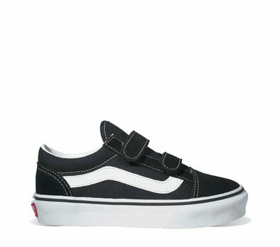 VANS OLD SKOOL V - BLACK/TRUE WHITE YOUTH