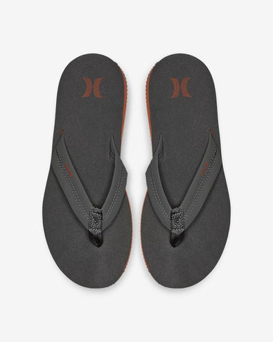 Hurley LUNAR SANDAL - GREY/ORANGE - 021