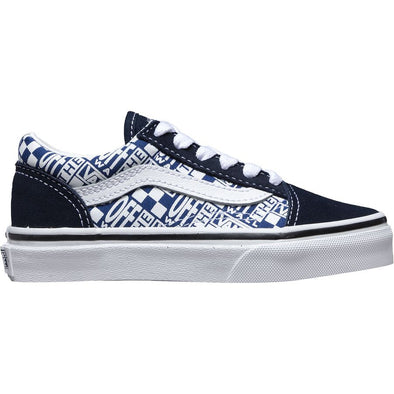VANS OLD SKOOL - OFF THE WALL DRESS BLUES/TRUE WHITE