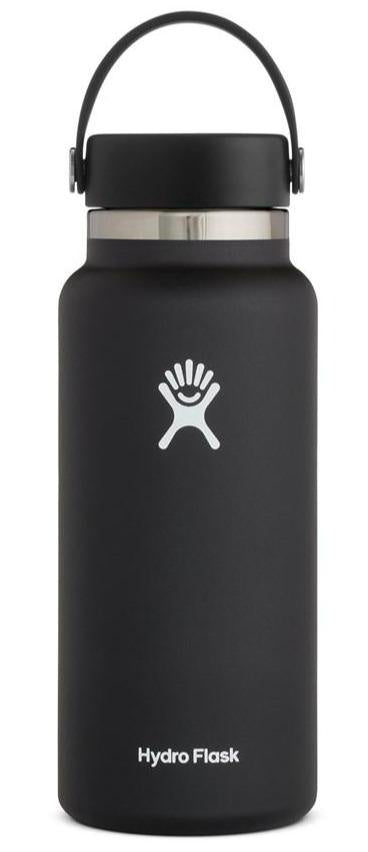 HYDROFLASK 32OZ (946ML) WIDE MOUTH - BLACK