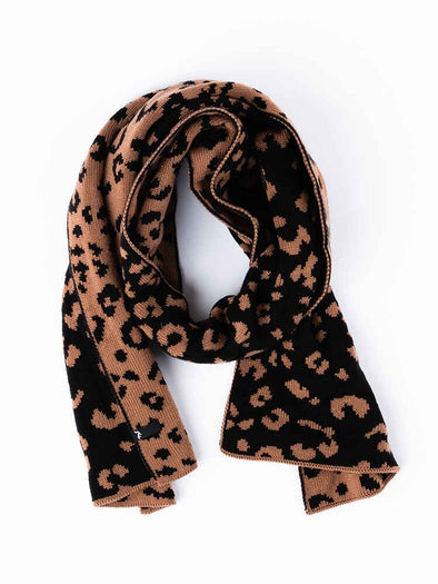 RUSTY CLEO REVERSIBLE SCARF - LATTE