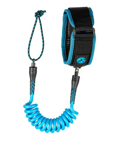 CREATURES RYAN HARDY BICEPT LEASH - CYAN BLACK