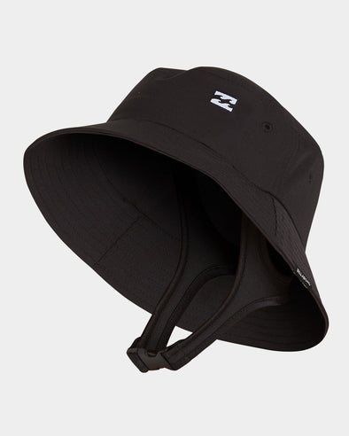 BILLABONG UPF50 SURF BUCKET HAT - BLACK