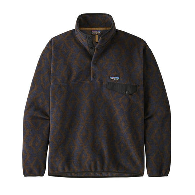 PATAGONIA M'S LW SYNCH SNAP-T P/O - FIELD GEO SMALL: NEW NAVY